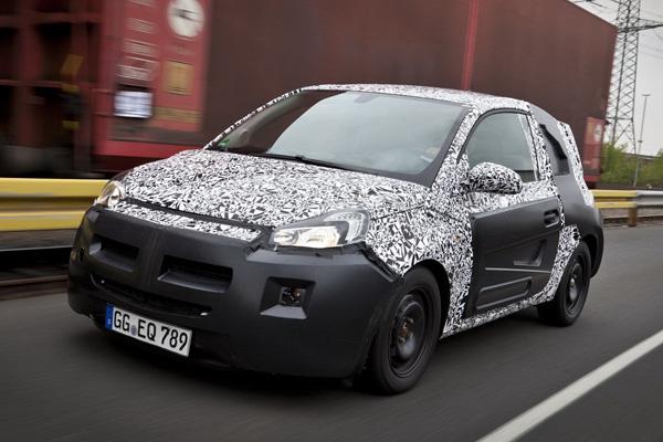 Opel Adam - новинка от Opel  (Шрионские снимки)