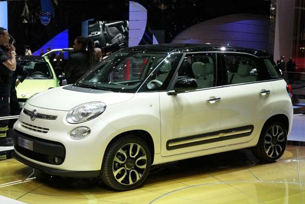 Кроссовер Fiat 500X появится в 2013 году