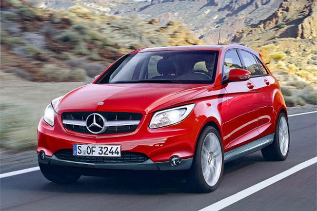 Mercedes-Benz готовит новый проект Mercedes-Benz GLA