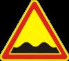 Дорожный знак 1.10 Неровная дорога