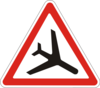 Дорожный знак 1.18 Низколетящие самолеты