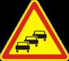 Дорожный знак 1.38 Заторы в дорожном движении