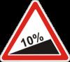 Дорожный знак 1.6 Крутой подъем