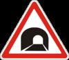 Дорожный знак 1.9 Туннель