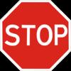 Дорожный знак 2.2 Проезд без остановки запрещен