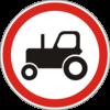 Дорожный знак 3.5 Движение тракторов запрещено