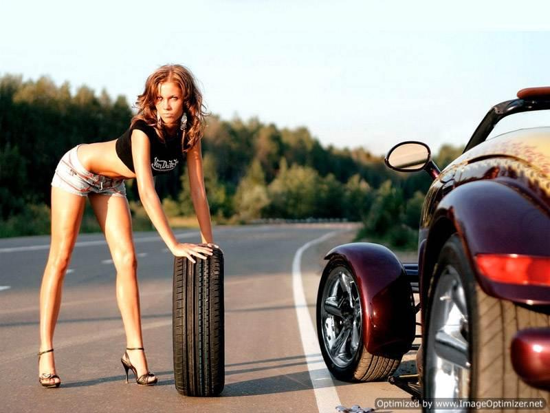 Хочешь ездить, умей и колеса менять