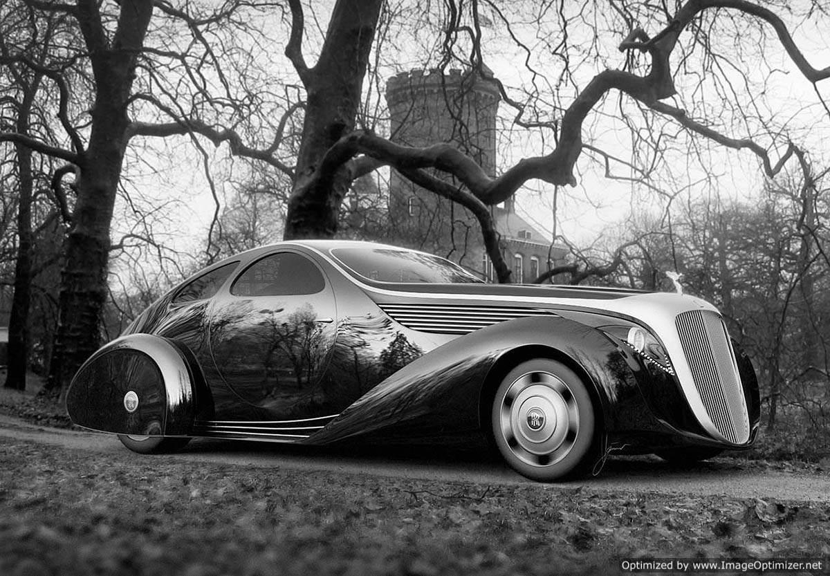 Rolls Royce Aerodynamic Coupe II