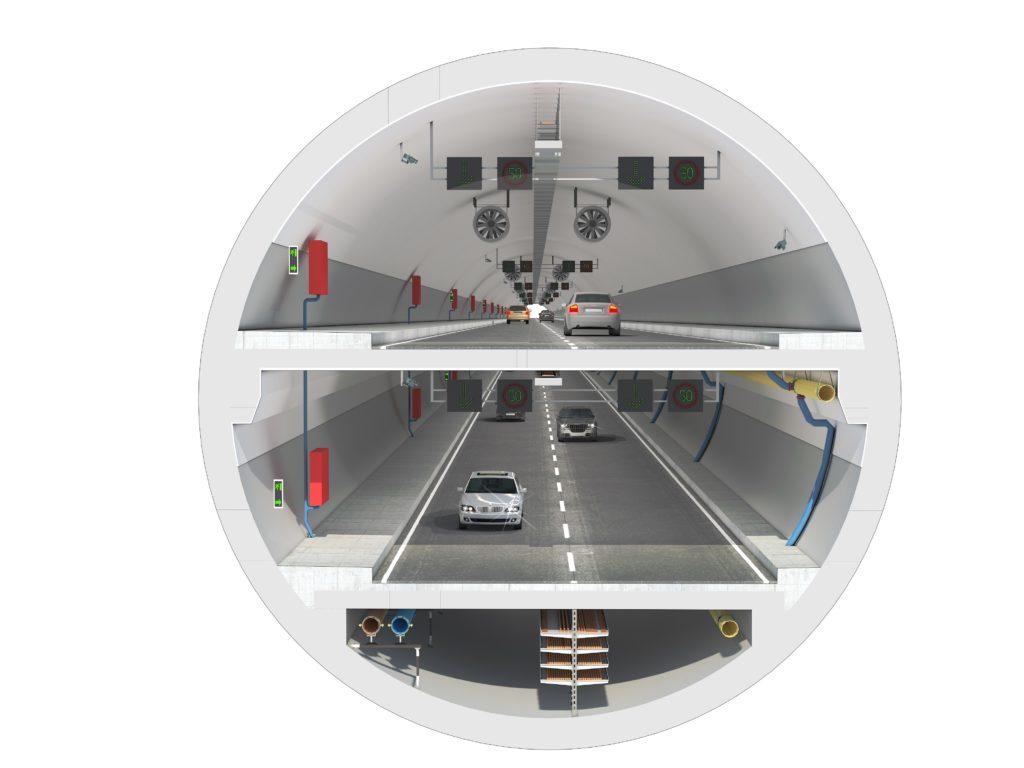 «Евразия» – подземный автомобильный туннель в Стамбуле