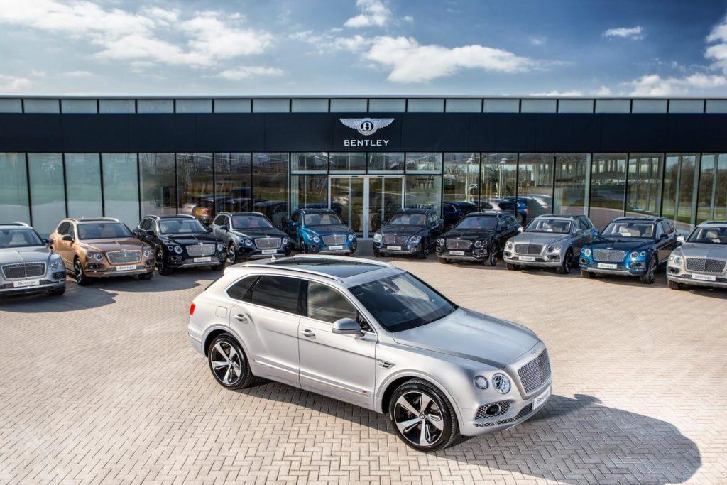 Автомобили Bentley Bentayga отозваны из-за дефекта