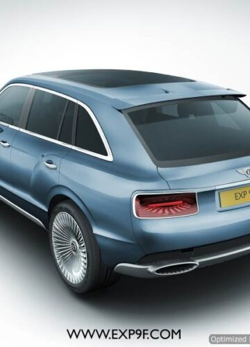 Bentley EXP 9 F concept – внедорожник от Бентли