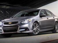Chevrolet анонсируют новый заднеприводный седан