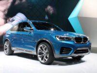 BMW показали превью нового X4