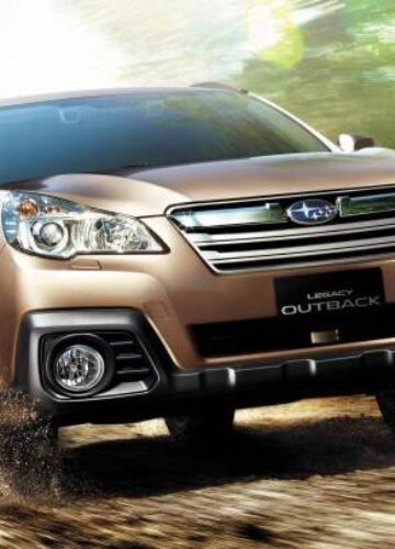 Subaru отзывают Legacy и Outback 2013 года