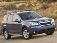 Subaru Forester – самый безопасный среди компактных внедорожников