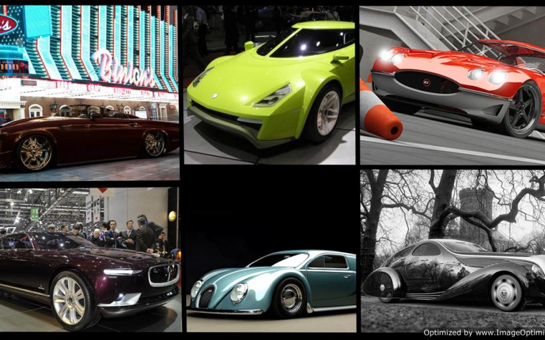 Шестерка лучших концепт-каров в стиле классики
