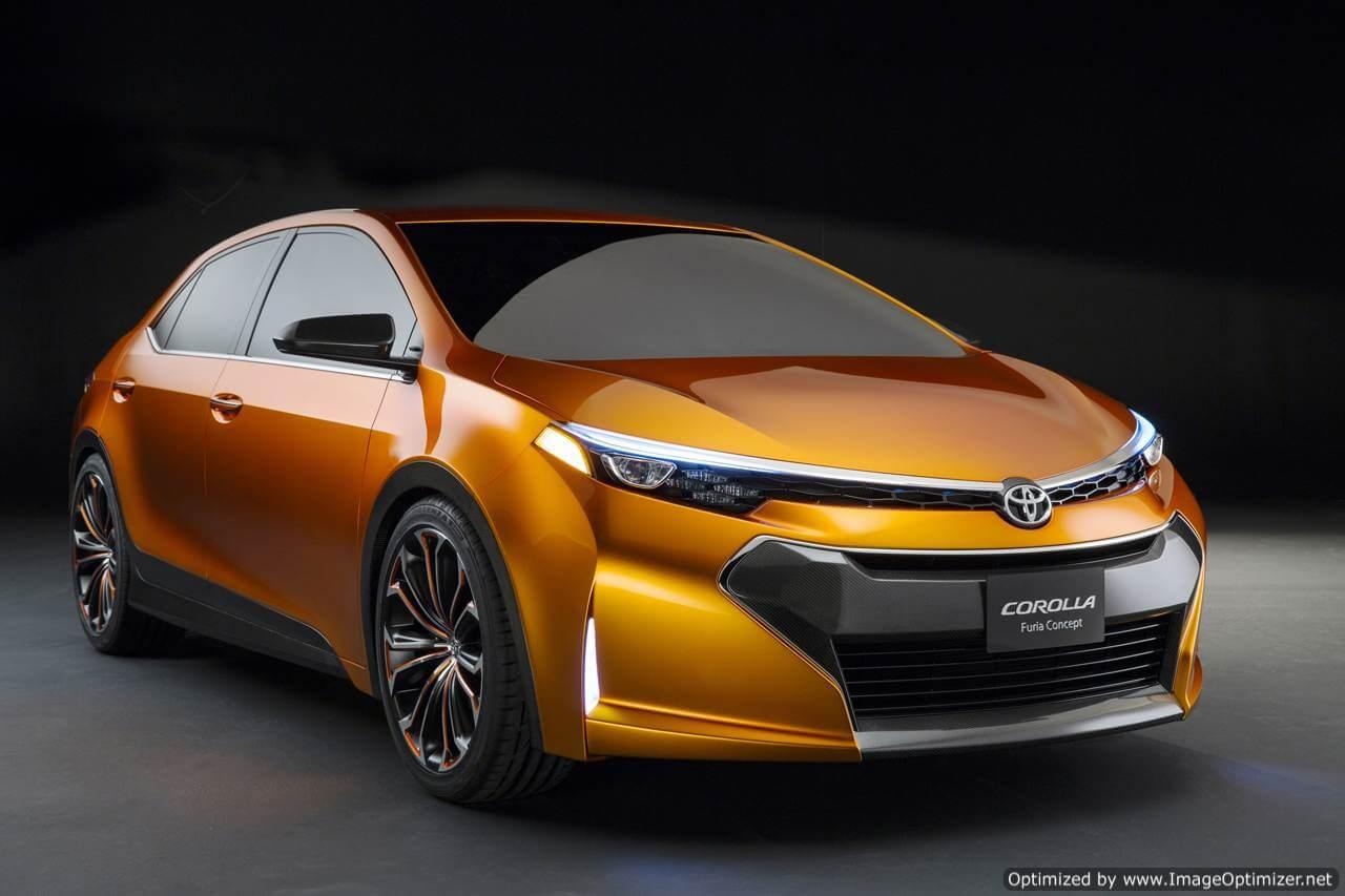 Новый концепт-кар Corolla Furia – спортивный стиль от Toyota