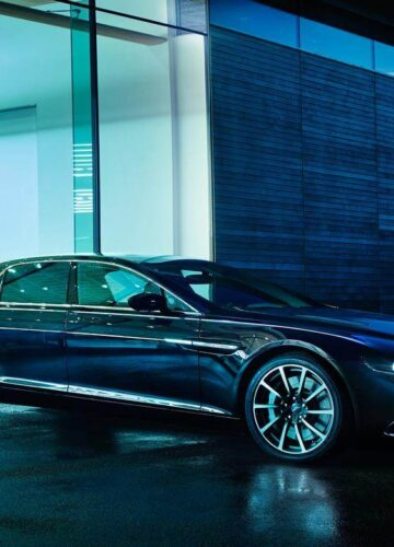 Официальные фото Aston Martin Lagonda