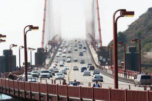1. Золотые Ворота – самый известный висячий мост в мире (самый большой до 1 964 года). (США)