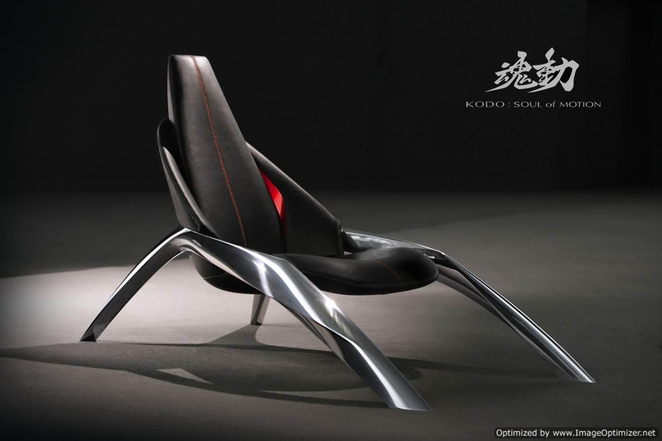 Концерн Mazda разрабатывает новую линию товаров. Встречайте – стул Kodo!
