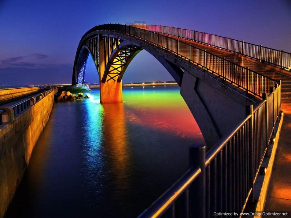 Мосты, соединяющие города и уходящие далеко за горизонт – это не фантазия! Это чудеса инженерной мысли