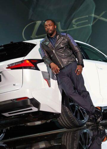 Новый Lexus NX представлен солистом will.i.am