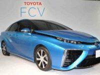 Toyota Mirai: подробности о водородном седане