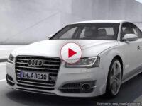 Audi S8: вождение на грани фантазии (видео)