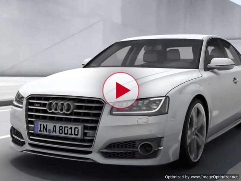 Audi S8: автомобиль будущего, способный изменить вашу жизнь (видео)