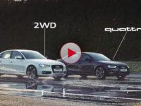 Audi quattro – безопасность превыше всего (видео)