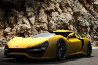 Сверхмощный гиперкар Nemesis, именно такую разработку представила американская компания Trion на закрытом автопоказе.