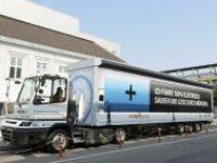 Уникальный 40-тонный грузовик от компании BMW