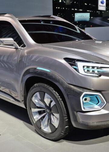 Subaru Viziv-7: самый большой внедорожник