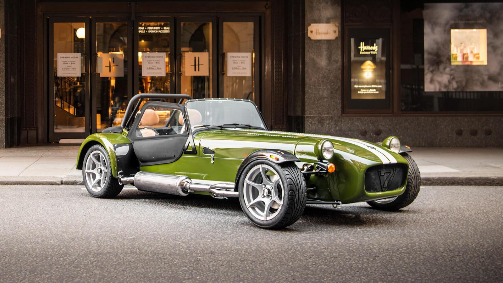 В планах Caterham – создание нового двухдверного спорткара