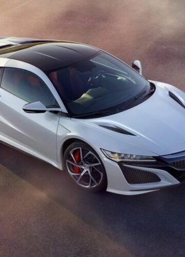 Acura/Honda NSX – первый спорткар подарен «своему»