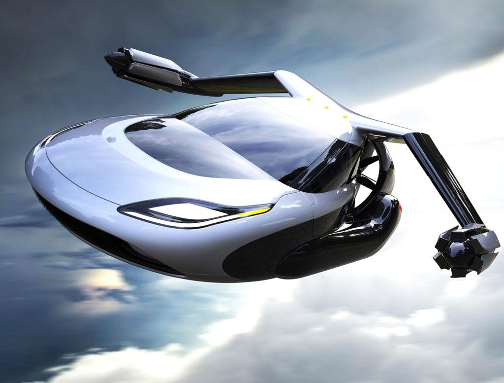 Geely займется производством летающих автомобилей Terrafugia
