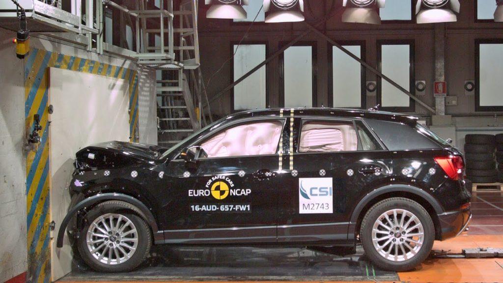 Три новеньких кроссовера разбиты в краш-тестах Euro NCAP