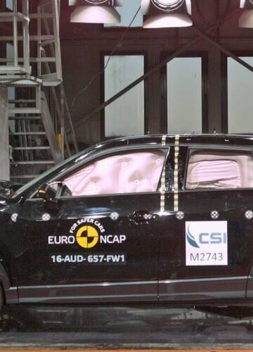 Три кроссовера разбиты в краш-тестах Euro NCAP