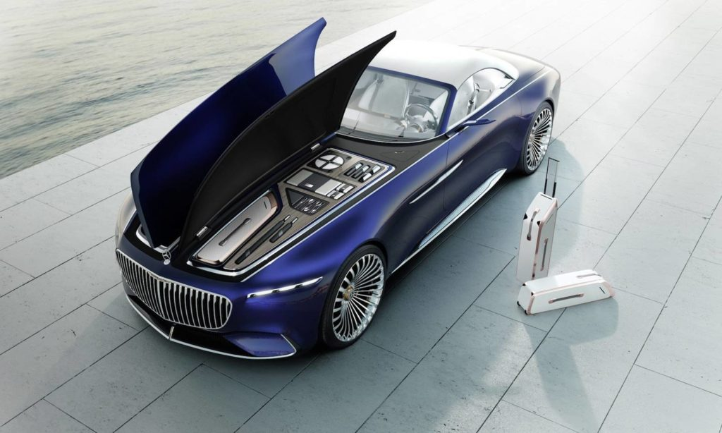 Mercedes-Maybach представил кабриолет-электромобиль