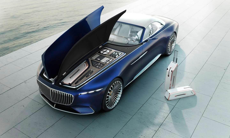 Mercedes-Maybach представил кабриолет-электромобиль