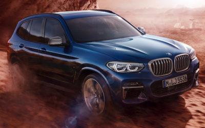BMW X3 покоряет красную планету