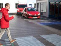 В Лондоне открыли пешеходный переход будущего