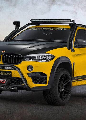 BMW X6 M: к суровому бездорожью готов
