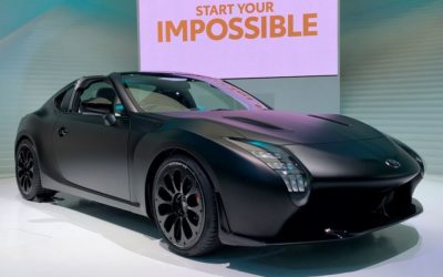 GR Super Sport Concept: первый тизер спорткара
