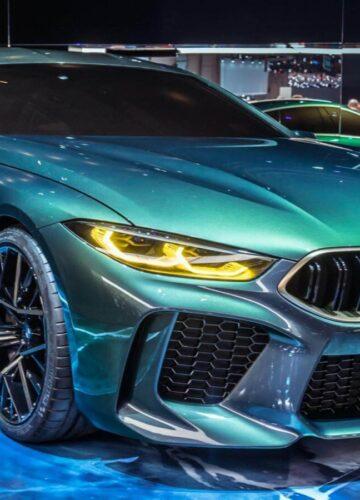Женева 2018: BMW Concept M8 Gran Coupe