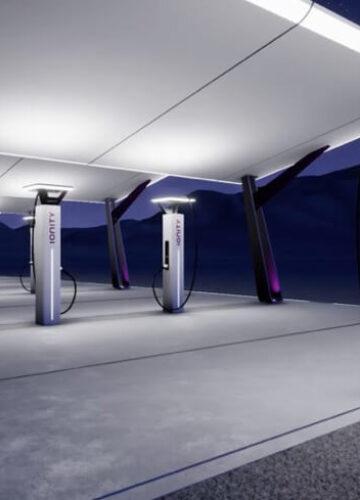 В Женеве презентовали зарядные комплексы Ionity