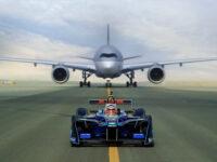 Электрический болид сразился с Airbus A350 и Boeing 787