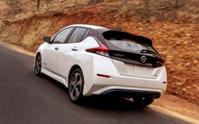 Краш-тест нового электрокара Nissan Leaf 2018