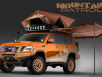 Первое фото Nissan Armada Mountain Patrol