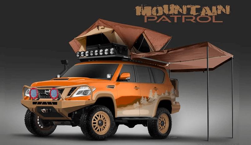 Первые фото концепт-кара Nissan Armada Mountain Patrol